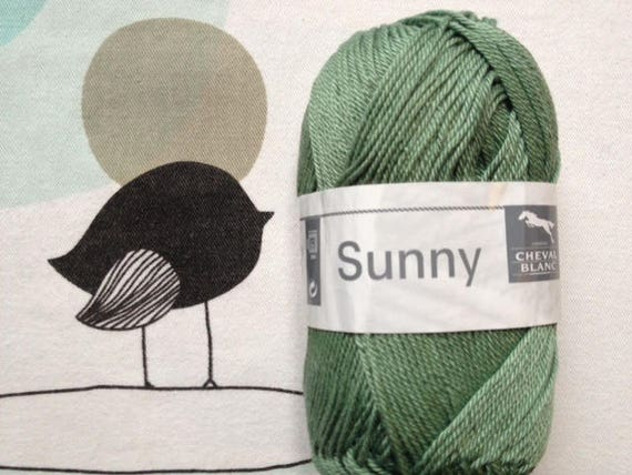 WOOL SUNNY duck - white horse