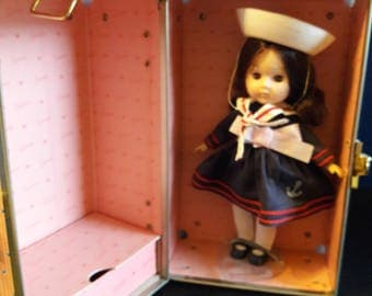 Ginny Sailor Girl Doll with Trunk