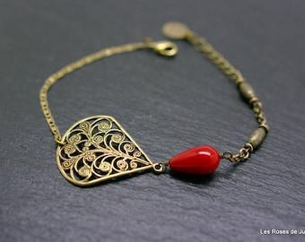 Bracelet art deco Lisa