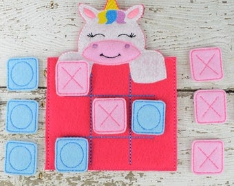 Unicorn Tic Tac Toe Game