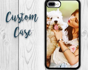 iPhone 7 Case - iPhone 8 Case Custom Photo Case, Design Your Own Personalized Case, Monogrammed Phone