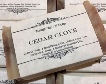 Cedar Clove Natural Homemade Soap