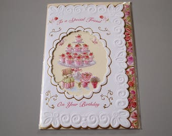 To a Special Friend Birthday Card