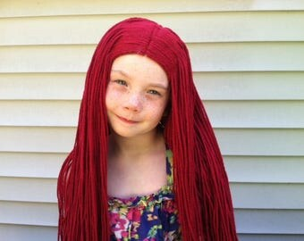 CLEARANCE AS IS  8yr-Adult Sally wig, Read Entire Item Description