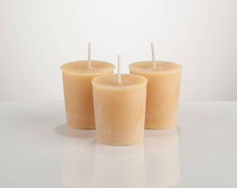 Scented Beeswax Votive Candles (Fragrance Oil)