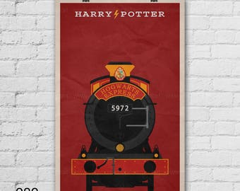 Harry Potter Poster. Movie Poster. Movie Art Print. 13x19, 16x20, 18x24, A1 size. Pop Culture and Modern Home Decor Poster. Item No. 082