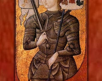 40% OFF SALE Poster, Many Sizes Available; Joan Of Arc
