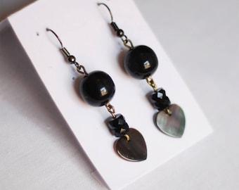 Mother heart - women earrings