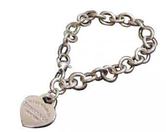 Silver  bracelet return Tiffany & co