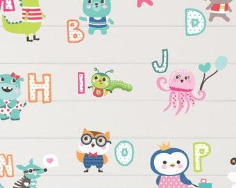 Alphabet Wall Decals   Etsy Part 69