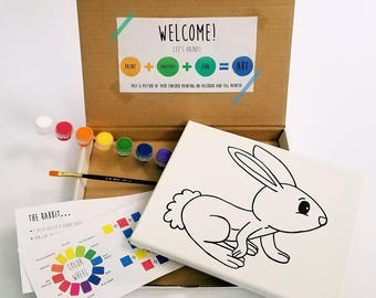 Rabbit Paint Kit