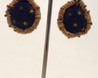 Earrings cotton starry banker BO5.13