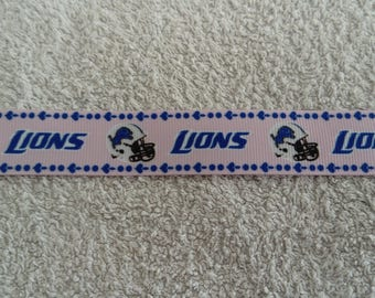 """Lions"" (by the yard) 22mm Ribbon"