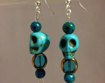 Blue Skulls