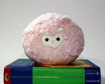 Baby Pink Pygmy Puff Plush