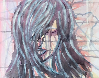Woman #5 - Original Abstract Art