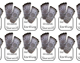 Earthing and Grounding Stickers   Wiccan/Pagan   Stickers   Planner   Matte   Glossy