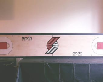 Custom Trailblazers Beer Pong Table/Wall Art