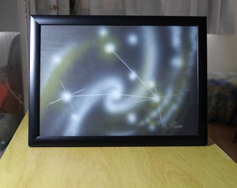PISCES (3) | Astrological Constellation | Painting