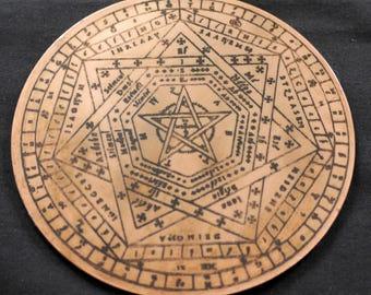 Budget Sigillum Dei Aemeth | Copper Engrave (1)
