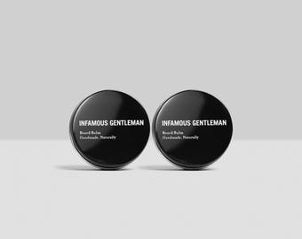 Beard Balm Pack, Care, Control, Condition, Moustache, Wax by INFAMOUS GENTLEMAN