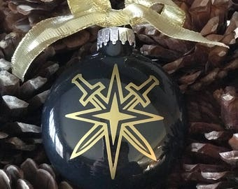 NHL Vegas Golden Knights Ornament ... A beautiful keepsake ..