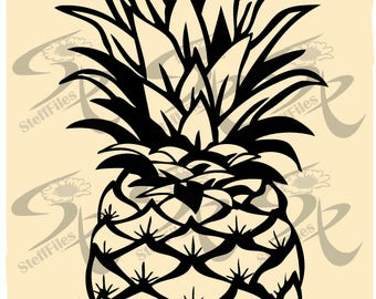 0753_Pineapple, fruits, vector, Download files, Digital, graphical,SVG,dxf, AI, png, eps, jpg