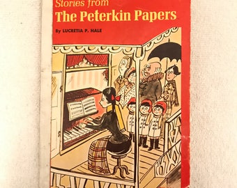 Vintage Stories From The Peterkin Papers Children's Story Book