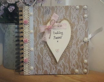 Wedding Planner Organiser Journal Scrapbook Bride To Be Gift Idea Ideas