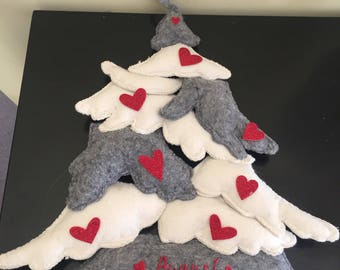 Christmas tree in Felt