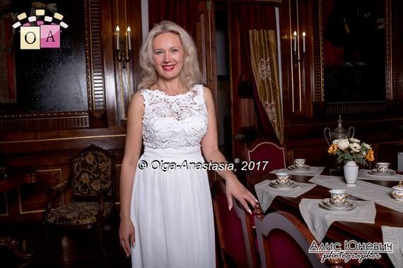 Irish Lace By Olga Anastasia Wedding Dress