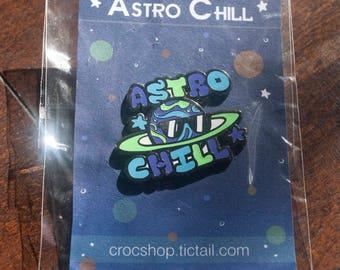 Astrp Chill Enamel Pin