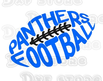 Panthers,Carolina Panthers,football,college team SVG,DXF,PNG for use with Silhouette Studio and Cricut Design Space