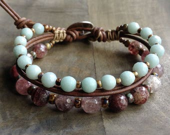 Bohemian bracelet boho chic bracelet boho bracelet gypsy womens jewelry fashion bracelet gemstone bracelet boho chic jewelry boho jewelry