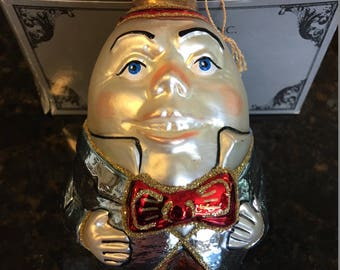Kurt Adler Polonaise HUMPTY DUMPTY gp477 Collectible Christmas Ornament