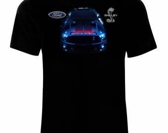 Ford Mustang Shelby Men's Printed T-shirt