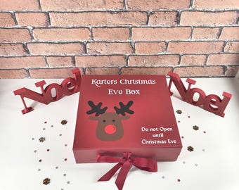 Christmas Eve box,christmas decorations,christmas eve crate,christmas eve bag,personalised xmas eve box,christmas goodie box,santas sac,xmas