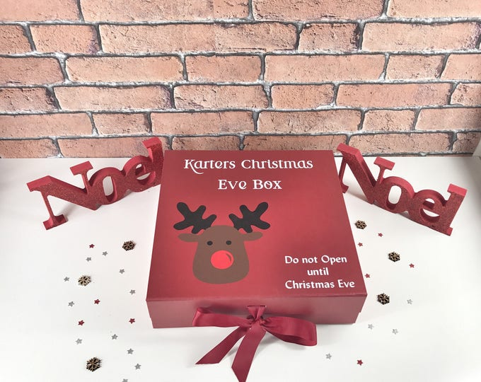 Children's personalised christmas eve box