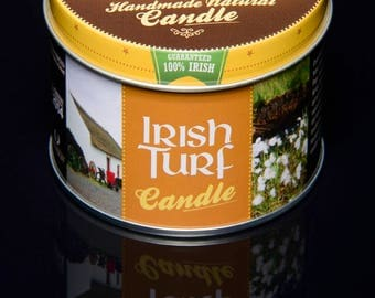 Irish Turf Candle