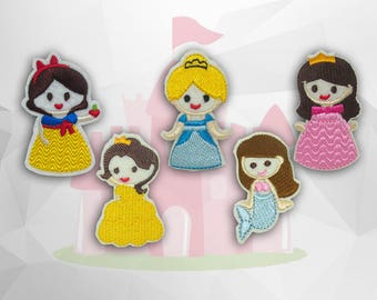 Little Princess  Iron on Patch(M2) - Cartoon Characters Applique Embroidered Iron on Patch