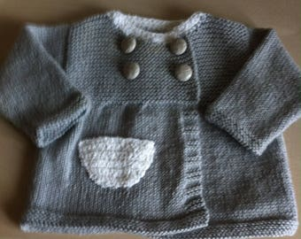baby girl hand knitted Cardigan
