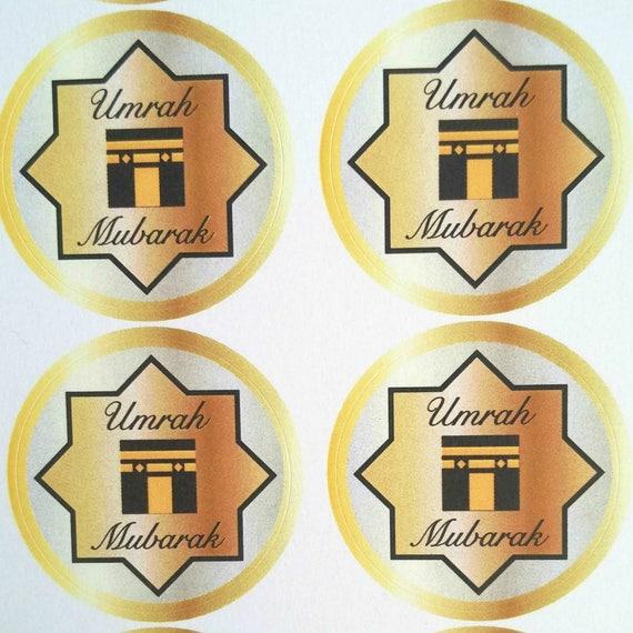 Umrah Banner: Umrah Mubarak Stickers / Umrah Mubarak / Umrah Mubarak