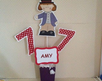 Willy Wonka and the Chocolate Factory Party Centerpiece Decoration