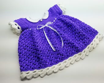Crochet Lil Blueberry Muffin Baby Dress Crochet Pattern DIGITAL DOWNLOAD ONLY