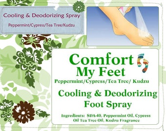 CMF Cooling Foot Spray 2oz