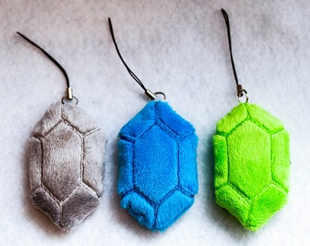 Rupee LOZ Inspired Charms - Choose your color Rupee!
