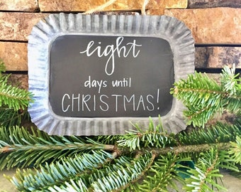 Scallopped Chalkboard Sign
