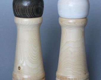 MA048 ash salt and pepper Mills