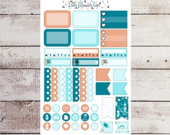 Ocean of Fun Boxes and Icon Planner Stickers