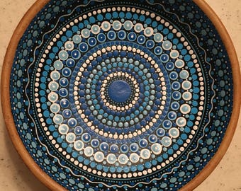 Deep blue ocean bowl #11